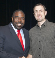 Dr. Burton With Les Brown
